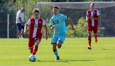 Maximilian Fesser im Spiel der U19 gegen Mainz