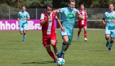 Anas Bakhat im Spiel der U19 gegen Mainz