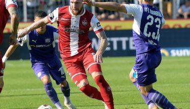 Jan Löhmannsröben im Spiel beim VfL Osnabrück