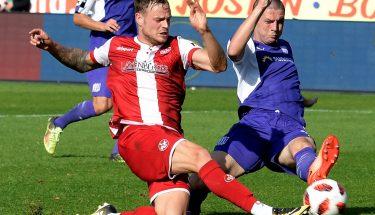Timmy Thiele im Spiel beim VfL Osnabrück