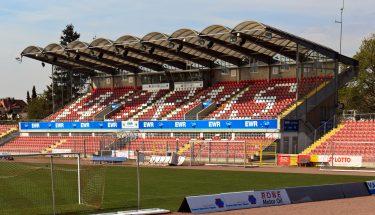 In der EWR-Arena bestreitet der FCK sein Verbandspokal-Viertelfinale gegen den TSV Gau-Odernheim