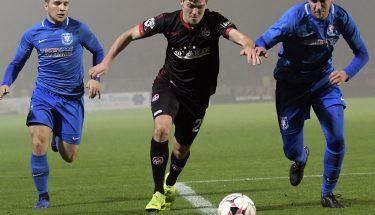 Dominik Schad im Verbandspokalspiel beim TSV Gau-Odernheim