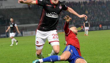 Dominik Schad im Spiel bei der SpVgg Unterhaching