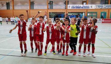 Die U10 gewann das Hallenmasters in Gau-Odernheim