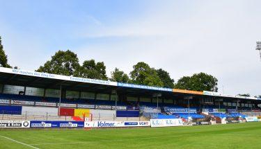 Blick in die Hänsch Arena in Meppen
