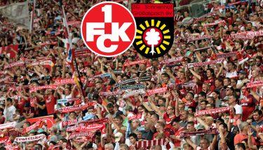 Ankündigungsbild zum Heimspiel des FCK gegen die SG Sonnenhof Großaspach
