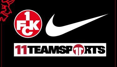 Nike wird in Kooperation mit 11teamsports zur Saison 2019/20 Ausrüster des FCK