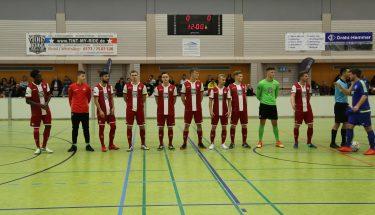 Die Mannschaft der FCK-U21 bei der Stadtmeisterschaft 2019