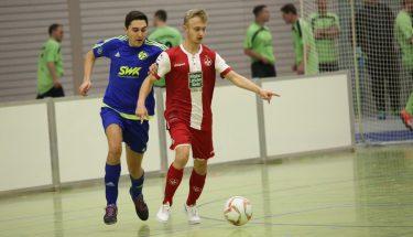 Spielszende der FCK-U21 bei der Stadtmeisterschaft 2019