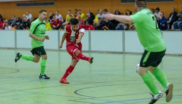 Spielszene der FCK-U21 bei der Stadtmeisterschaft 2019