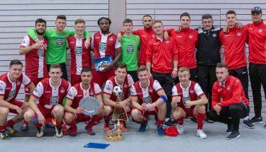 Sieger der Stadtmeisterschaft 2019: Die FCK-U21