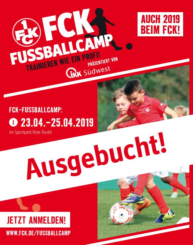 Fußballcamp I ist bereits ausgebucht