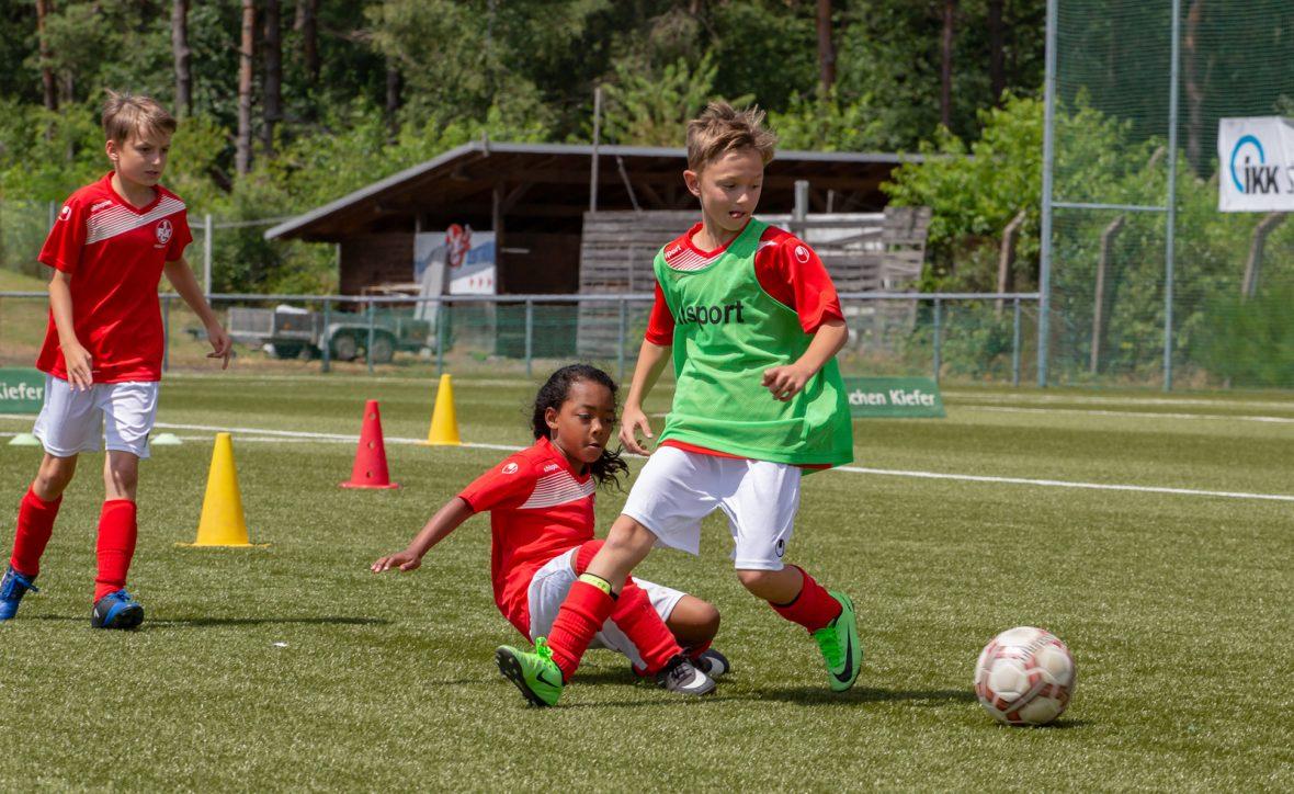 FCK-Fußballcamp in den Sommeferien 2018