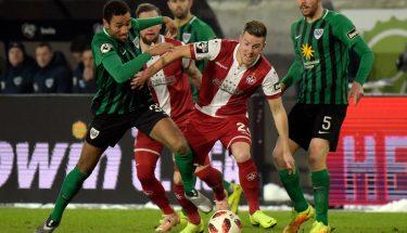 Christian Kühlwetter im Auswärtsspiel in Münster