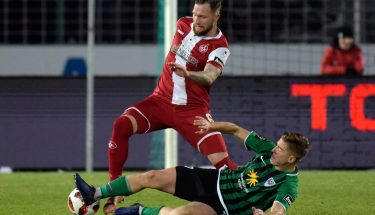 Jan Löhmannsröben im Auswärtsspiel in Münster