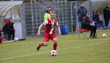 Simon Gartmann im Spiel der U21 gegen Emmelshausen