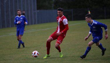 Yannick Filipovic im Spiel der U21 gegen Emmelshausen