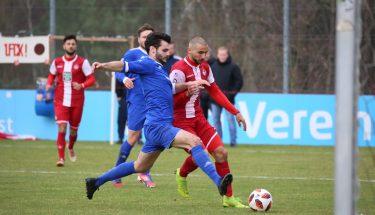 Iosif Maroudis im Spiel der U21 gegen Emmelshausen