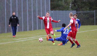 Jannis Held im Spiel der U21 gegen Emmelshausen