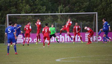 Spielszene aus dem Spiel der U21 gegen Emmelshausen