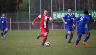 Nils Schätzle im Spiel der U21 gegen Emmelshausen