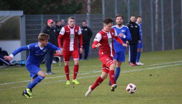 Julius Lammenett im Spiel der U21 gegen Emmelshausen