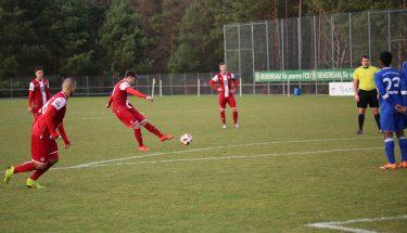 Jonas Scholz im Spiel der U21 gegen Emmelshausen