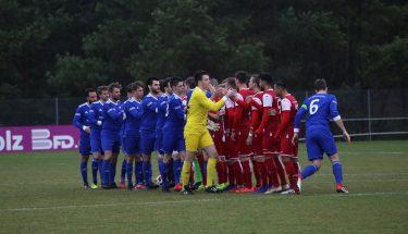 Die beiden Teams im Spiel der U21 gegen Emmelshausen
