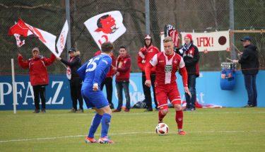 Michael Clemens im Spiel der U21 gegen Emmelshausen
