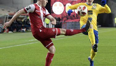 Dominik Schad im Heimspiel gegen Eintracht Braunschweig