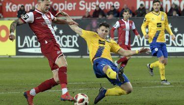 Timmy Thiele im Heimspiel gegen Eintracht Braunschweig