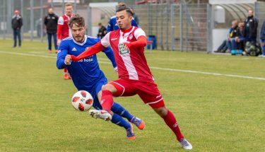 Mohamed Morabet im Spiel der U21 gegen Emmelshausen
