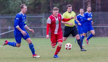 Justus Klein im Spiel der U21 gegen Emmelshausen