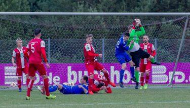 Matheo Raab im Spiel der U21 gegen Emmelshausen