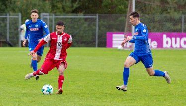 Mehmet Yildiz im Spiel der U19 gegen die Stuttgarter Kickers