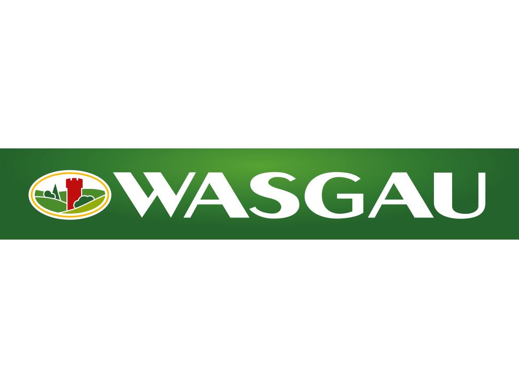Logo des FCK-Exklusivpartners WASGAU in der Saison 2019/20