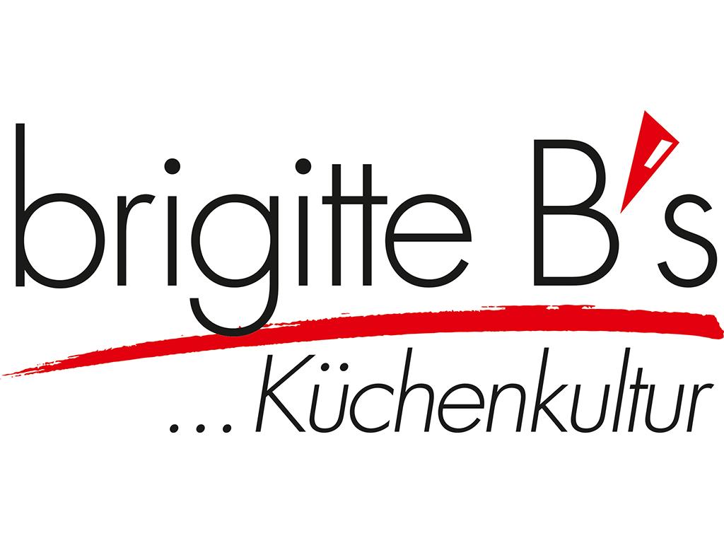 Logo des FCK-Herz-der-Pfalz-Partners brigitte B's Küchenstudio für die Saison 2019/20