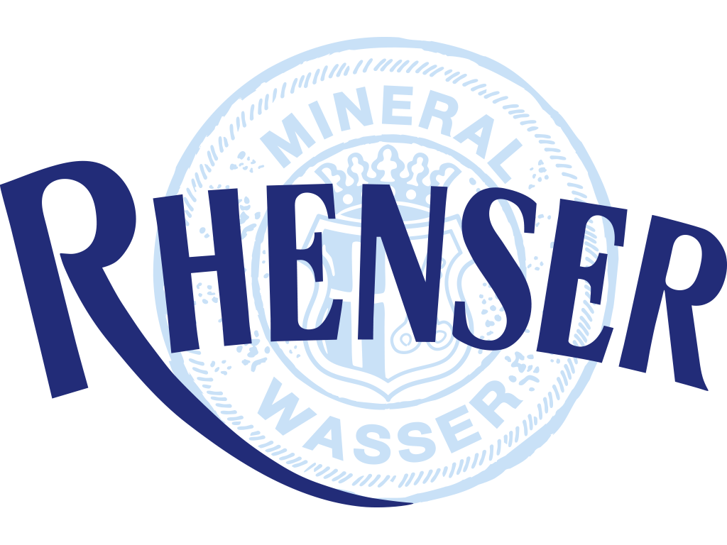 Logo des FCK-Herz-der-Pfalz-Partners Rhenser Mineralbrunnen für die Saison 2019/20