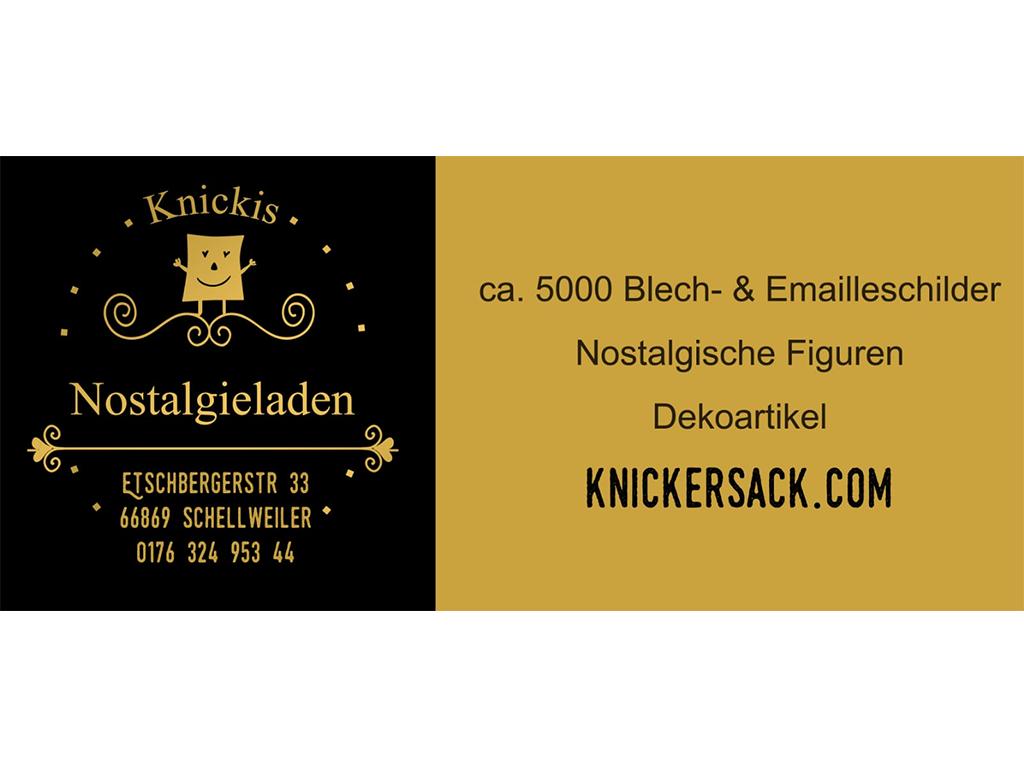 Logo des Basisa-Partners Knickies Nostalgieladen
