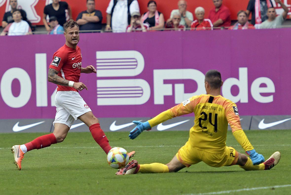 Timmy Thiele im Heimspiel gegen Ingolstadt