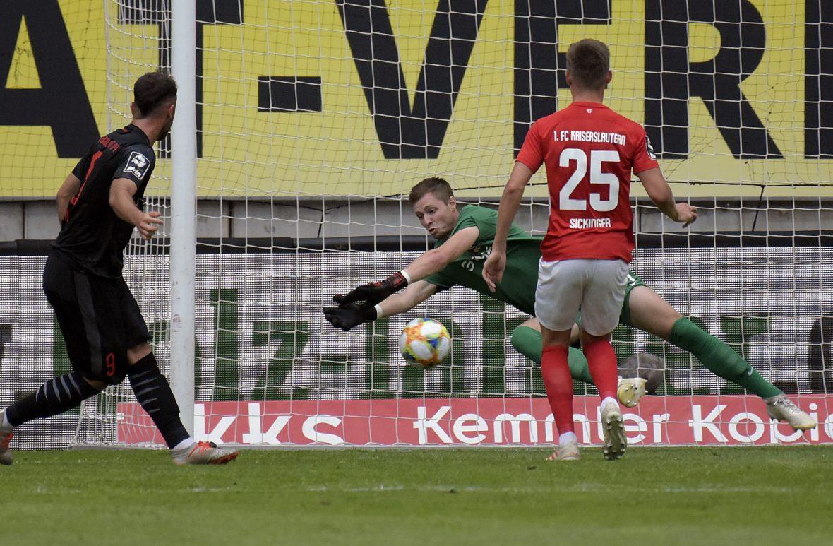 Lennart Grill im Heimspiel gegen Ingolstadt