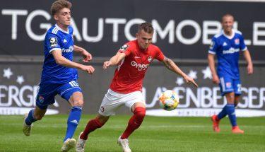 Florian Pick beim Heimspiel gegen die SpVgg Unterhaching
