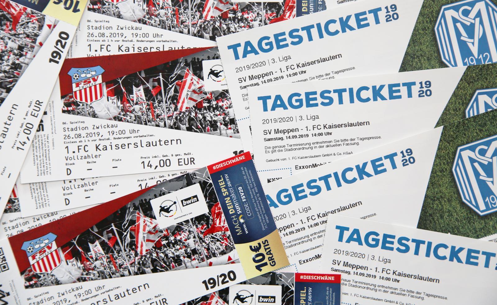 Tickets Fsv Zwickau