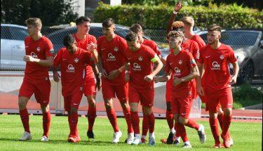 Torjubel im Auswärtsspiel der U19 in Fürth (Bildquelle: SpVgg Greuther Fürth)