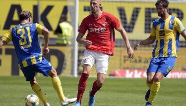 Janik Bachmann im Heimspiel gegen Eintracht Braunschweig