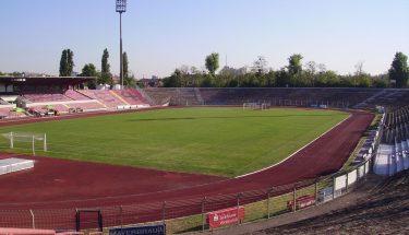 Innenansicht des Südweststadions in Ludwigshafen