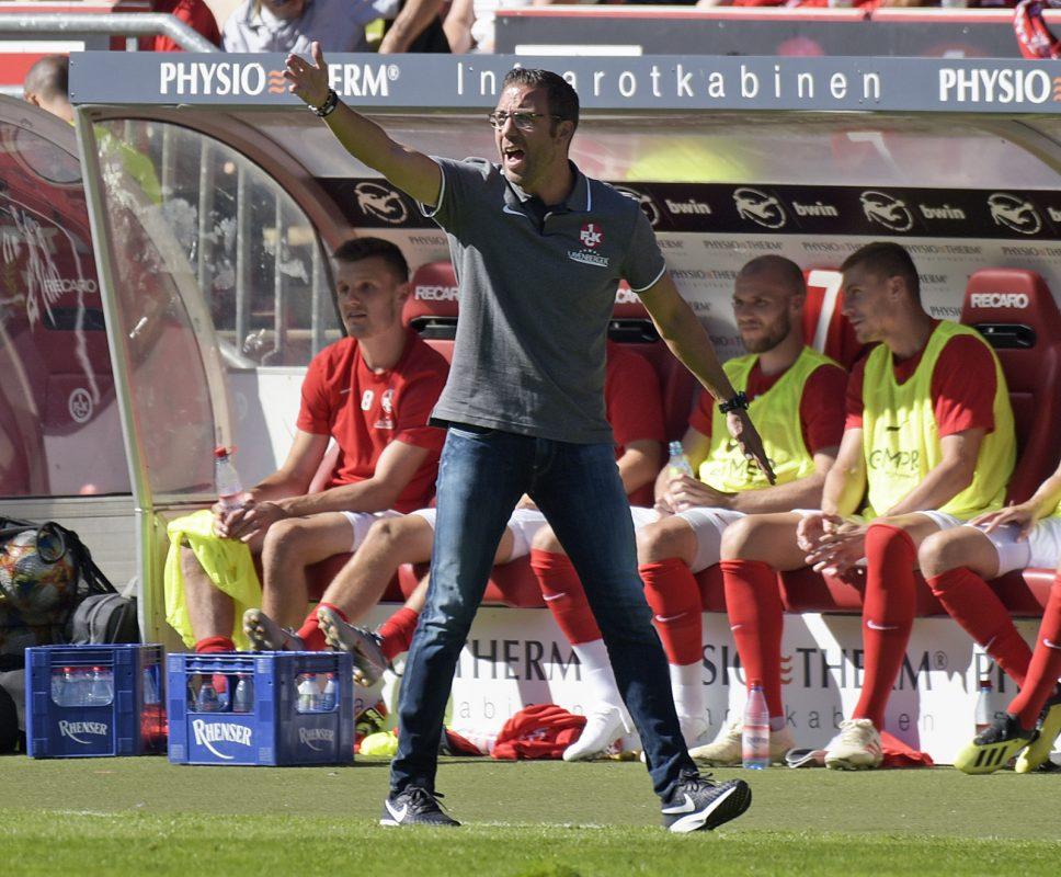 Boris Schommers beim Heimspiel des FCK gegen Magdeburg