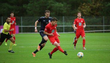 Flavius Botiseriu im Heimspiel der U21 gegen Mechtersheim