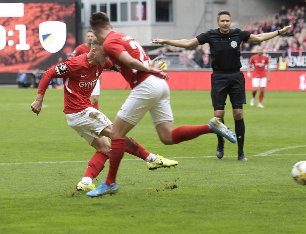 Christoph Hemlein trifft im Heimspiel gegen Jena