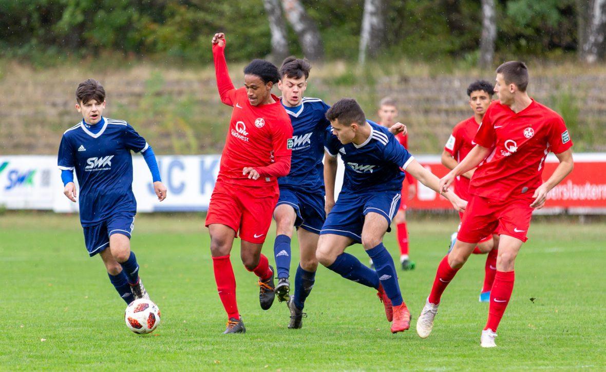 Jah'Moises Corona im Spiel der U19 beim VfR Kaiserslautern